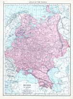 Russia, World Atlas 1913